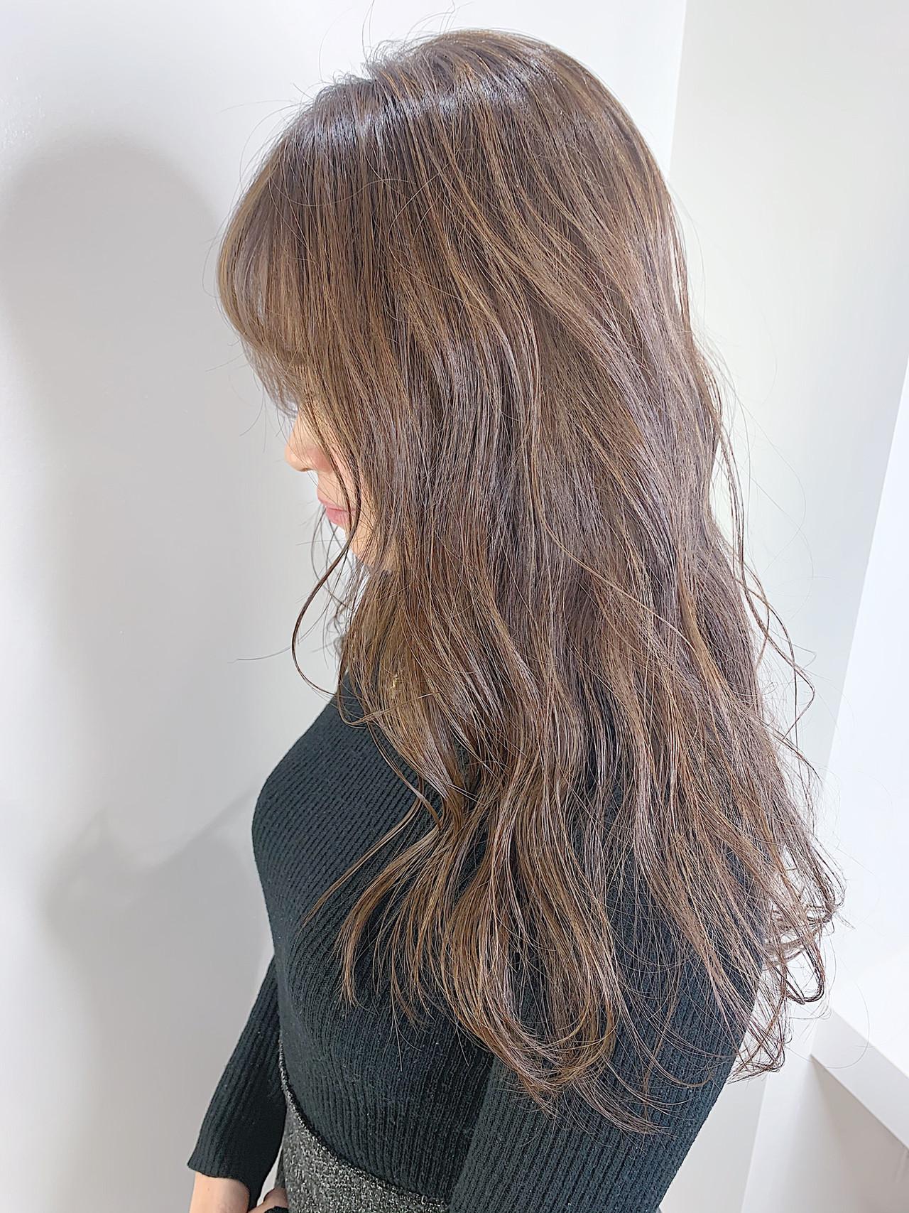 フェミニン 3Dハイライト 大人かわいい 透明感カラー ヘアスタイルや髪型の写真・画像