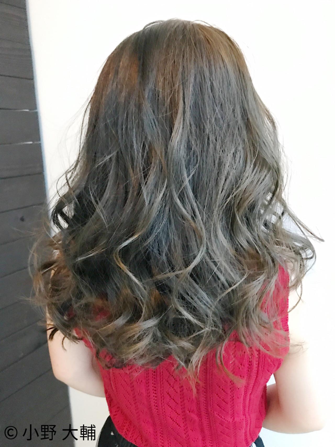 ミディアム ナチュラル 冬 外国人風 ヘアスタイルや髪型の写真・画像   小野 大輔 / OHIA  for plumeria