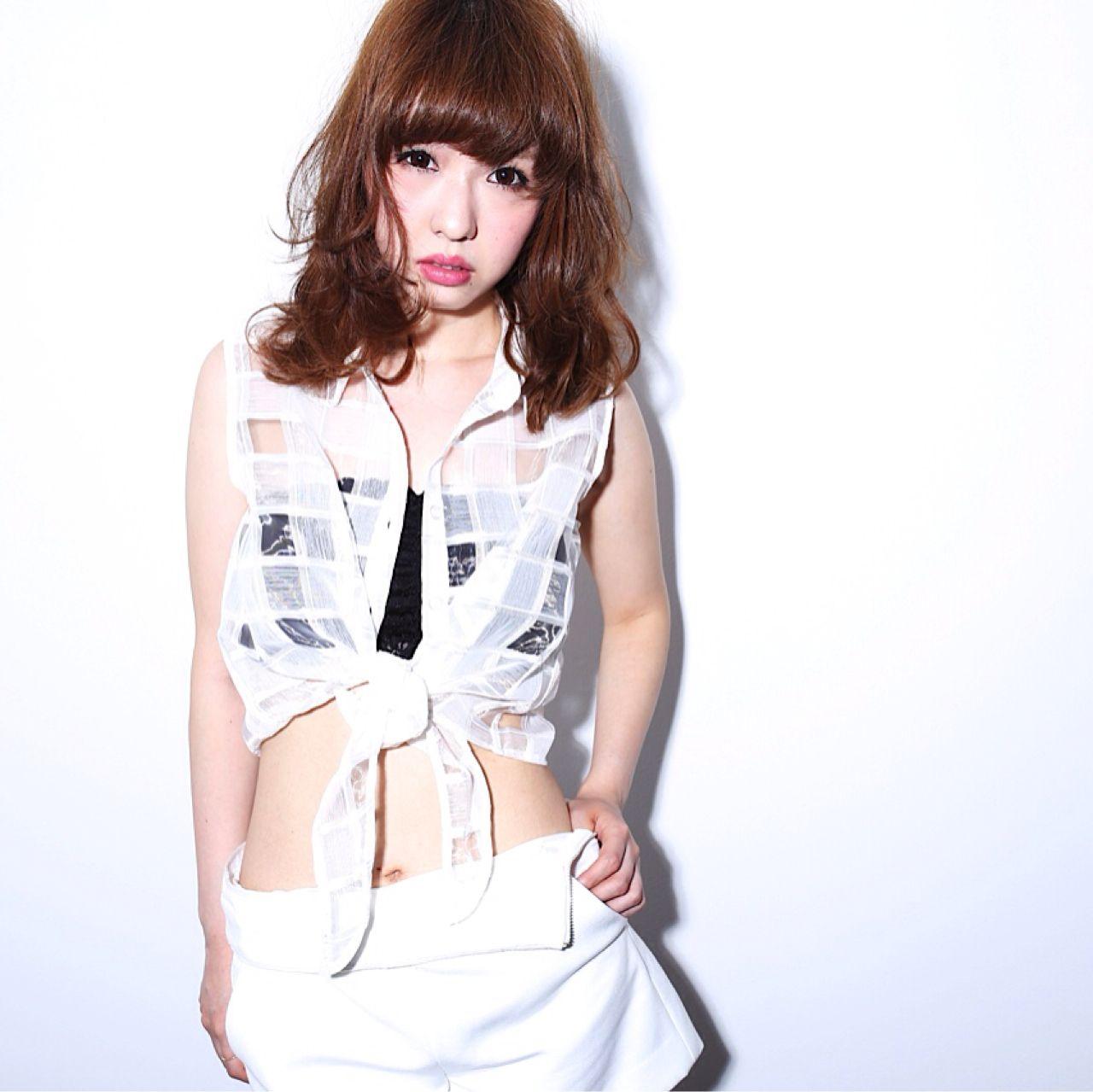 渋谷系 ナチュラル 外国人風 セミロング ヘアスタイルや髪型の写真・画像   菅谷 遼将 / LOREN