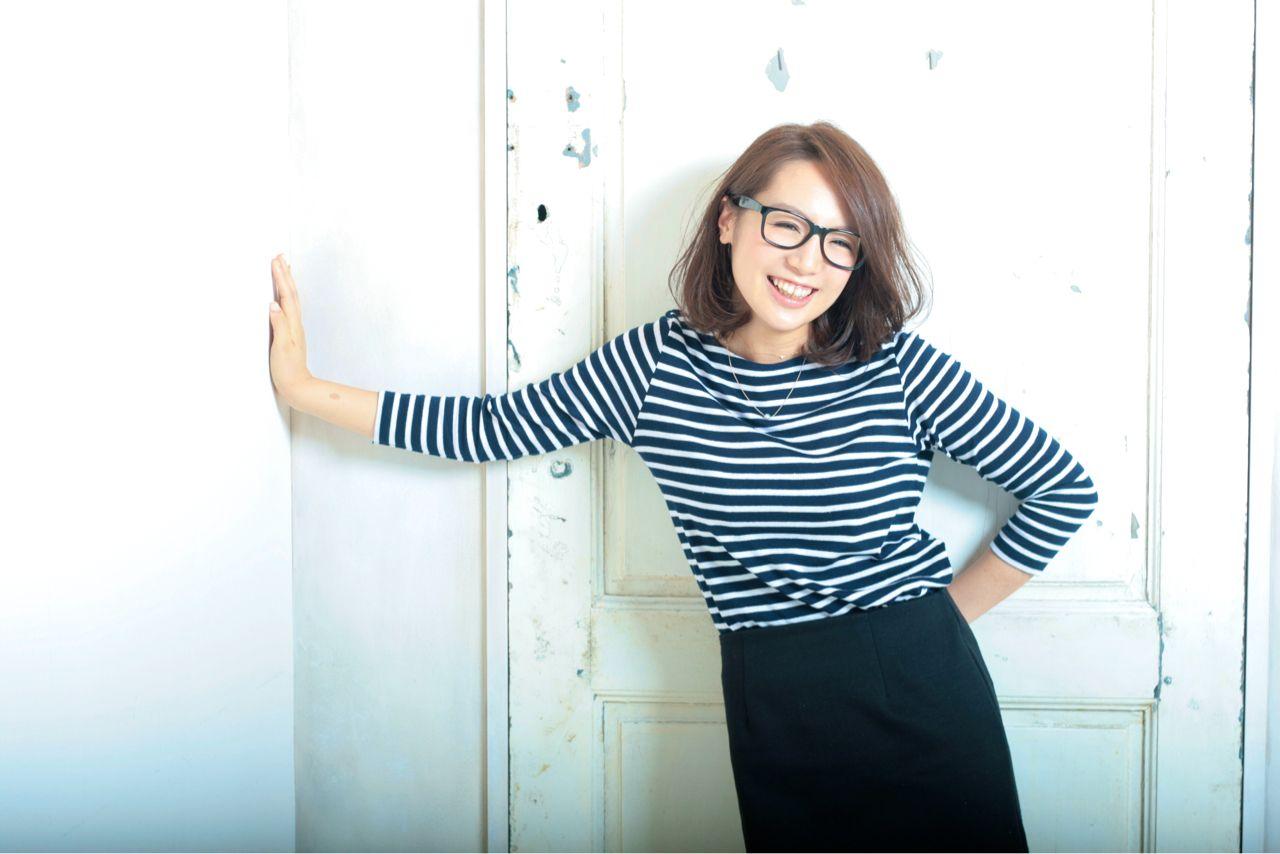 大人女子 サイドアップ ラフ ボブ ヘアスタイルや髪型の写真・画像 | 辻野 祐也 /