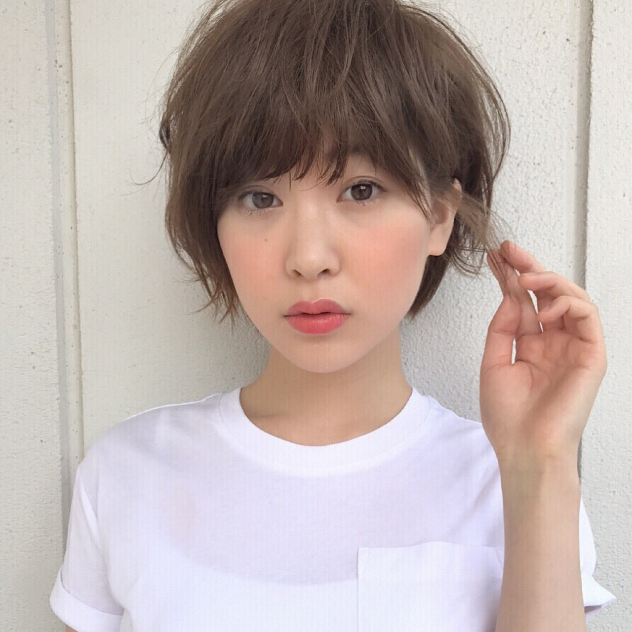 ショートボブ アンニュイ ショート ナチュラル ヘアスタイルや髪型の写真・画像 | 高橋苗 / GARDENharajuku