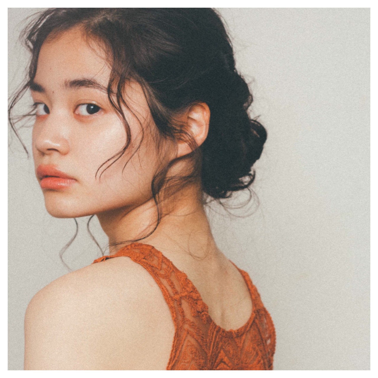 ラフ ヘアアレンジ 簡単ヘアアレンジ ガーリー ヘアスタイルや髪型の写真・画像
