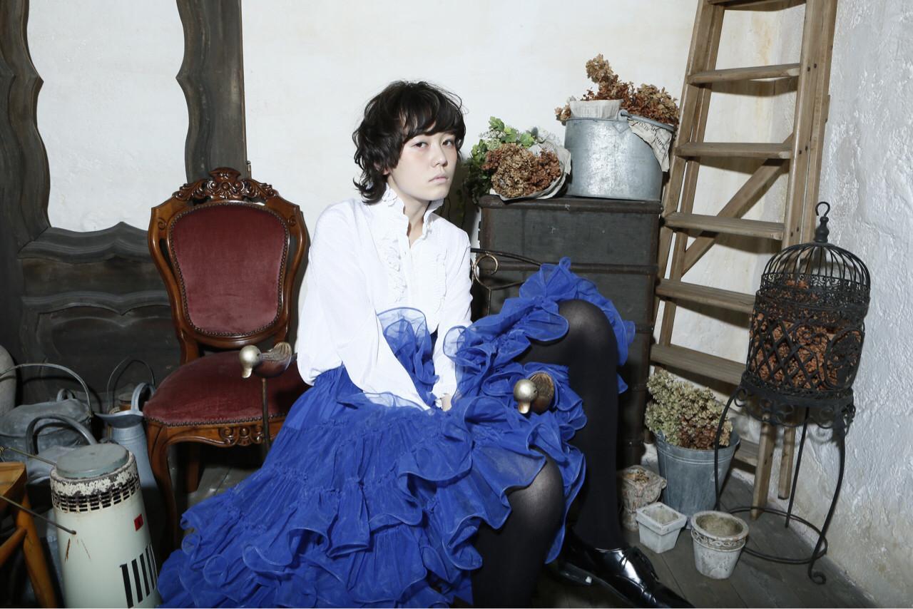 大人かわいい 黒髪 外国人風 モード ヘアスタイルや髪型の写真・画像   清水桃子 / ミルクブッシュ / ミルクブッシュ