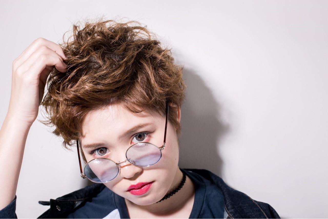 ショート ウェットヘア 外国人風 かっこいい ヘアスタイルや髪型の写真・画像