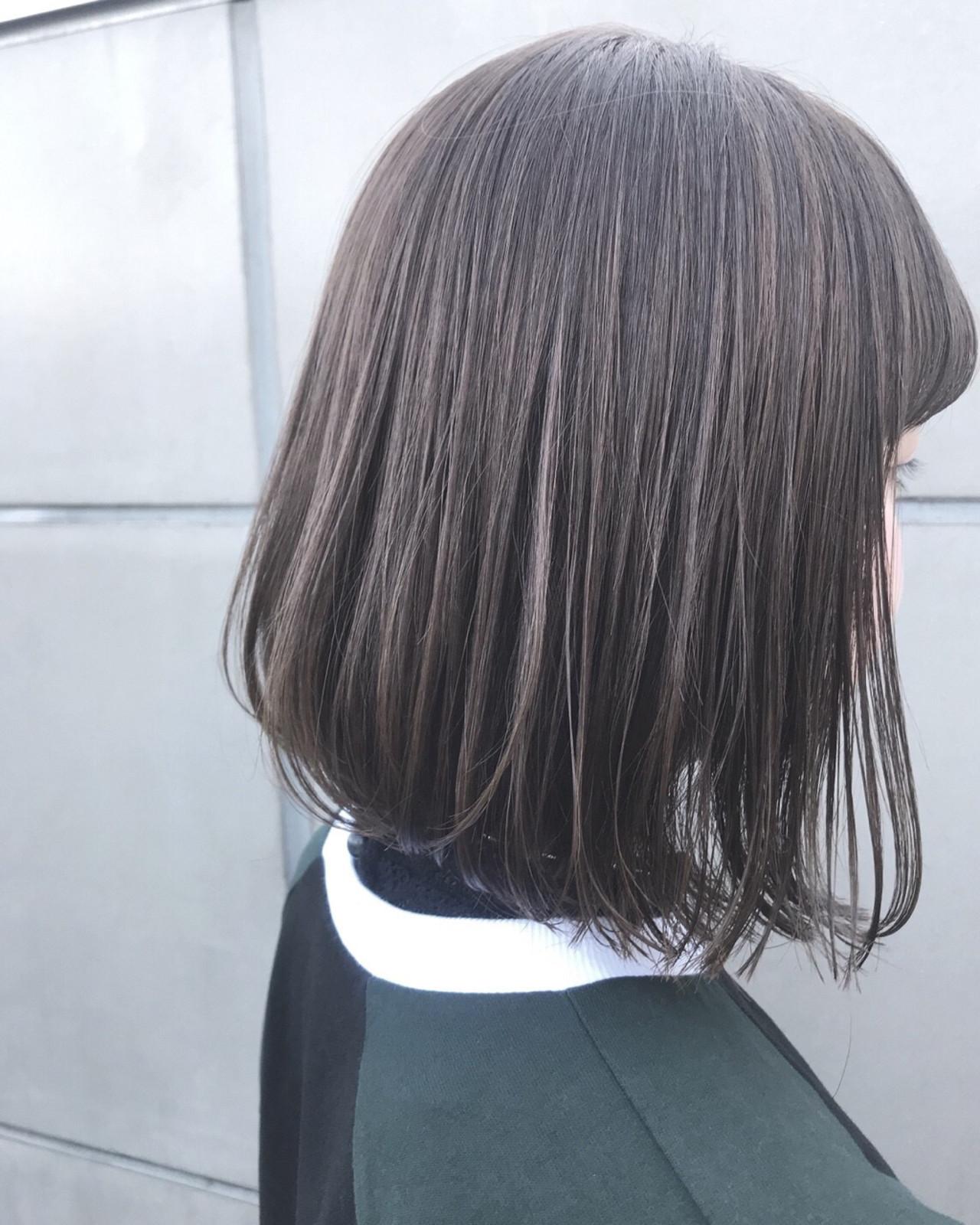 ボブ ヘアアレンジ デート アウトドア ヘアスタイルや髪型の写真・画像