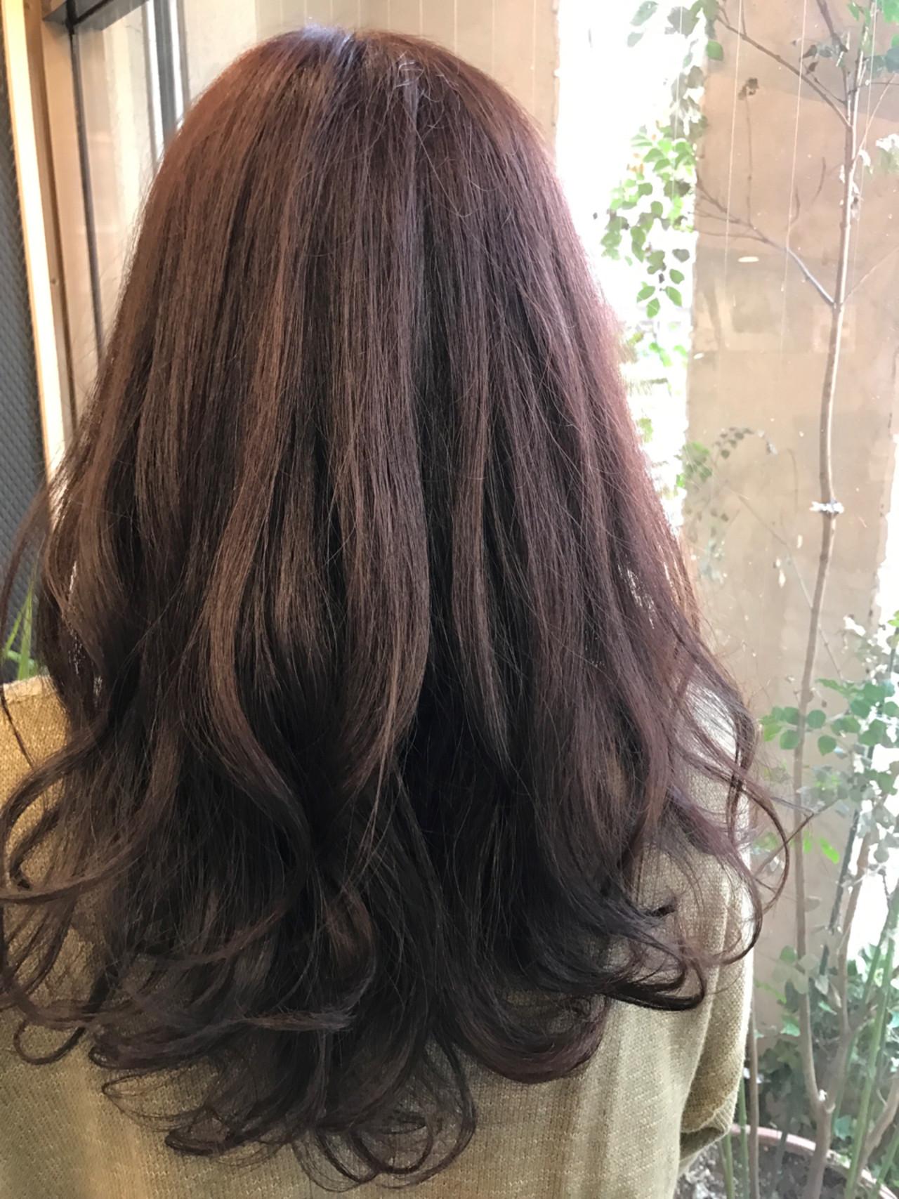 ロング 愛され 春 アッシュ ヘアスタイルや髪型の写真・画像