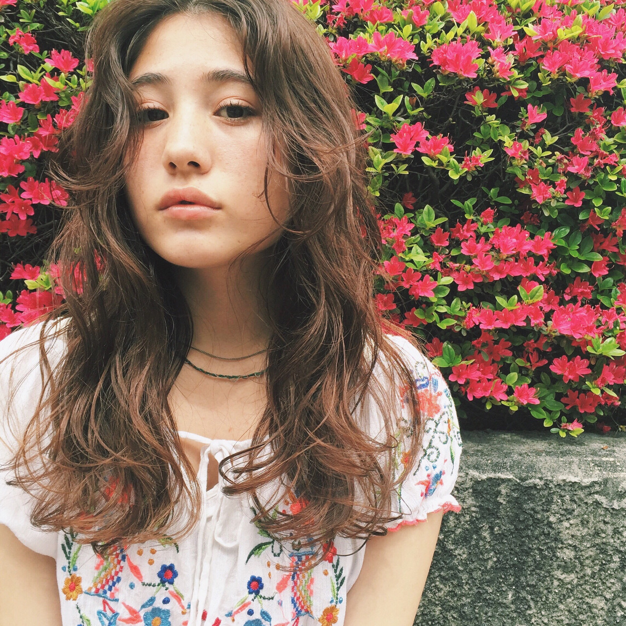 パーマ 外国人風 ピュア ストリート ヘアスタイルや髪型の写真・画像
