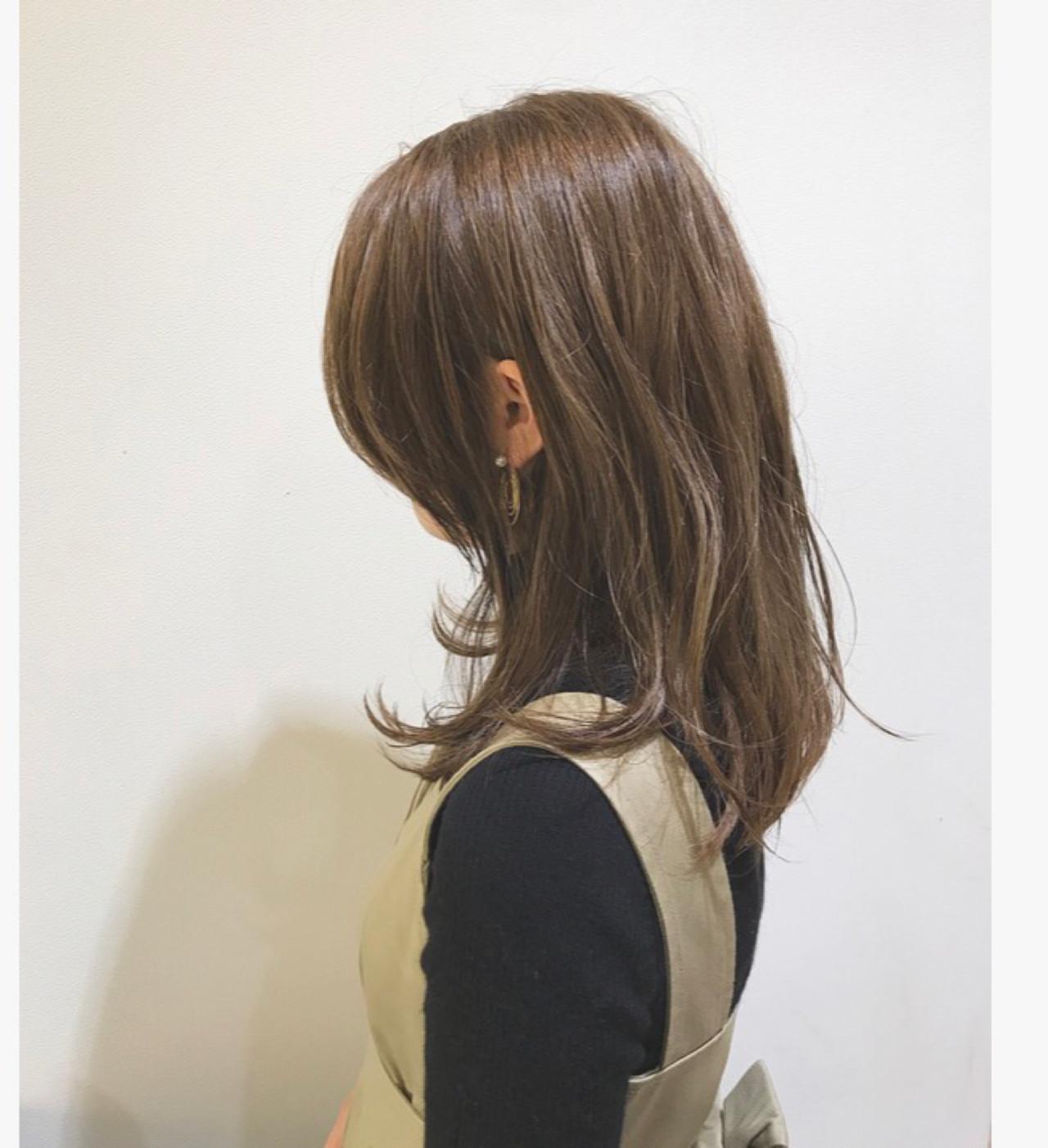 ウェットヘア 外国人風 外国人風カラー グラデーションカラー ヘアスタイルや髪型の写真・画像 | 村井優紀 / FITS CORE フィッツコア