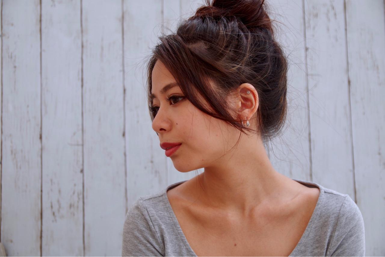 夏 涼しげ ロング 色気 ヘアスタイルや髪型の写真・画像