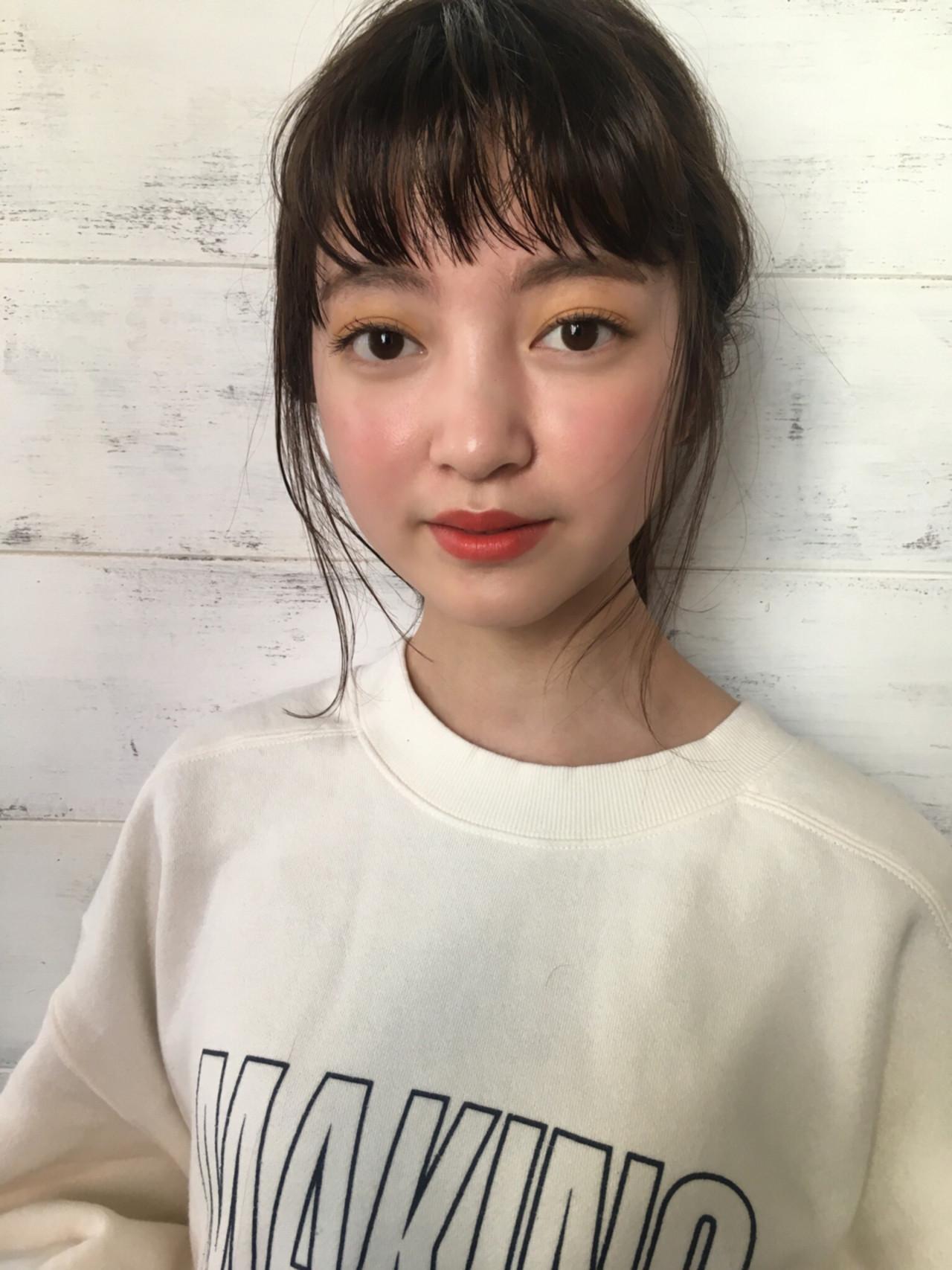 ナチュラル ミディアム ヘアスタイルや髪型の写真・画像 | joemi by unami 森千里 / joemi by unami 新宿