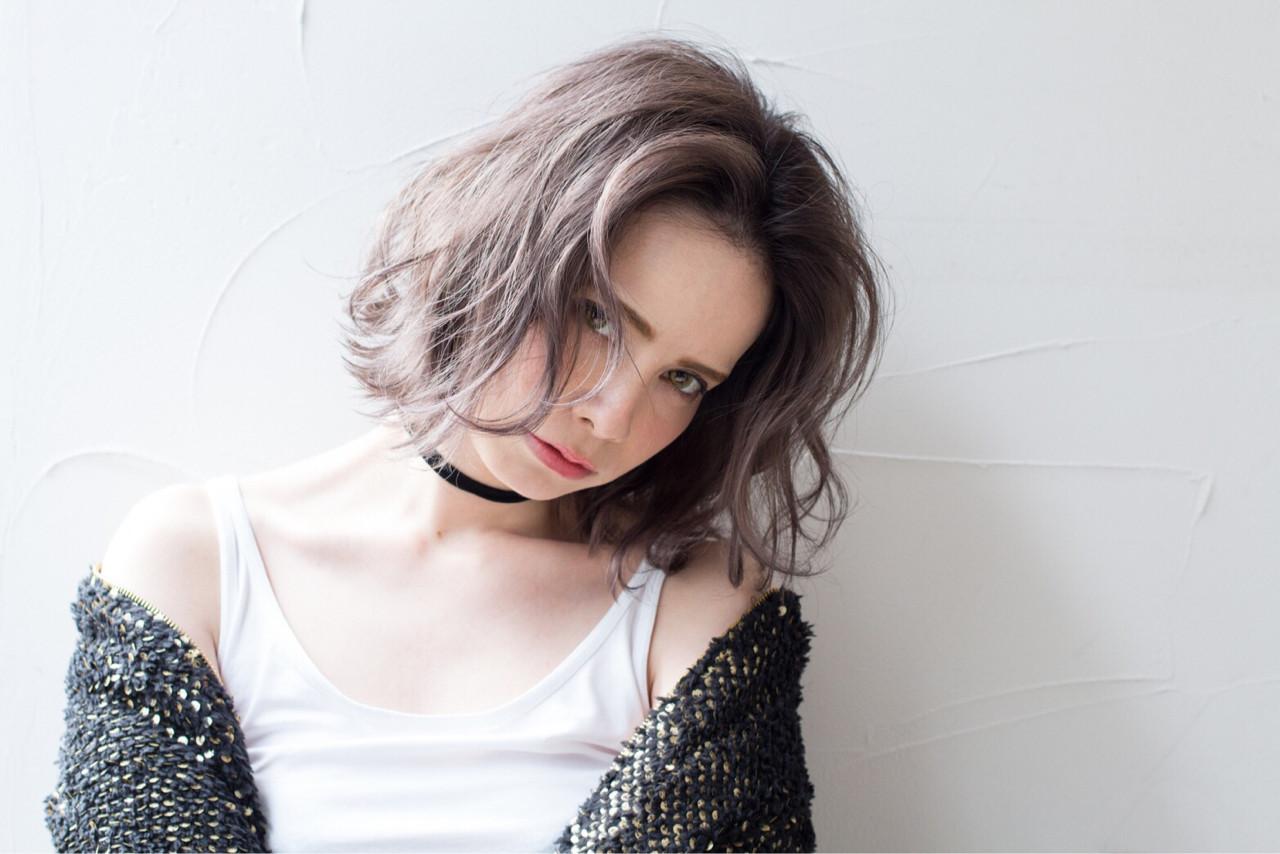 ニュアンス 外ハネ ストリート 外国人風 ヘアスタイルや髪型の写真・画像