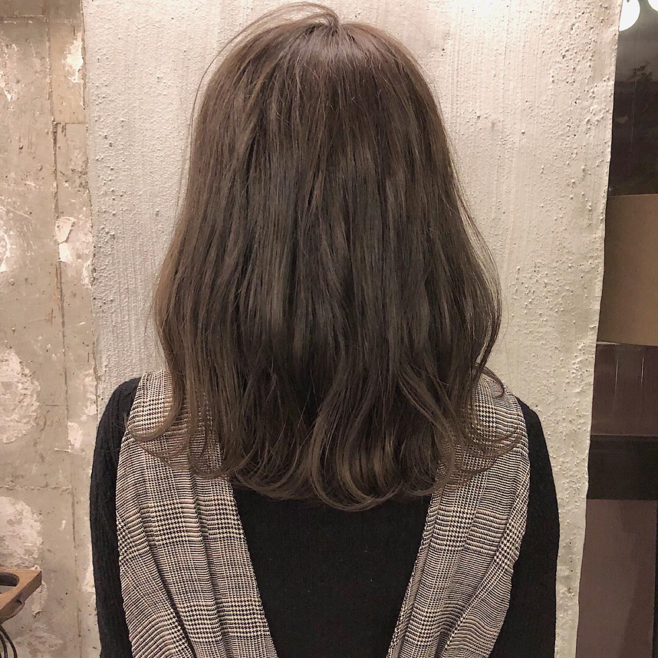 外国人風カラー ナチュラル デート 透明感 ヘアスタイルや髪型の写真・画像