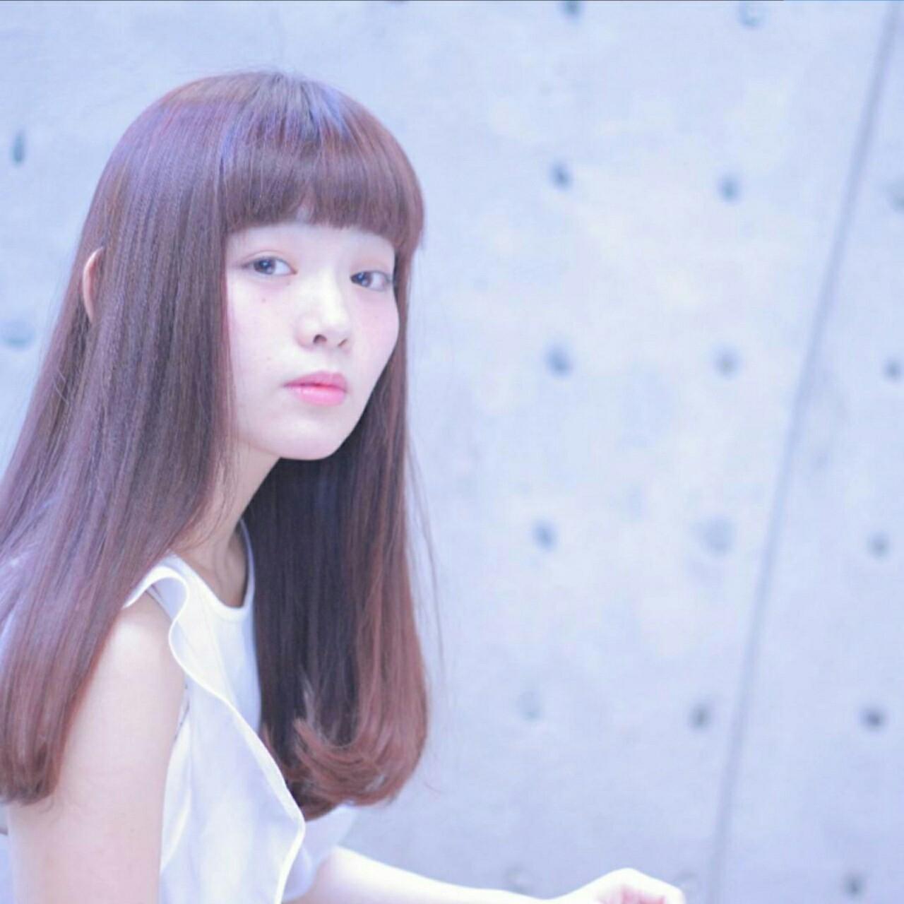 ほんのりピンクにきゅんとする。愛され「ラベンダーアッシュ」のヘアスタイルまとめ  Wataru Maeda