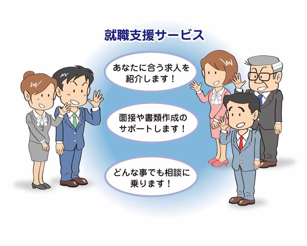 就職支援サービス