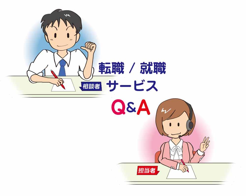 転職&就職サービスのQ&A