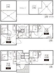 敷地面積6坪でも建築可能!?狭小地・変形地の有効活用2