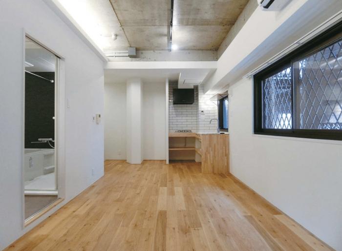 築古リノベーション+差別化で高めの家賃でも満室経営1