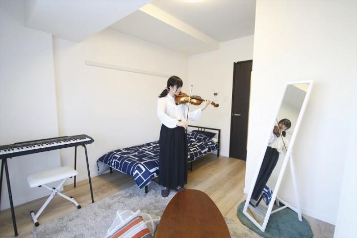 ニーズに合った土地活用で即満室の「音楽マンション」2