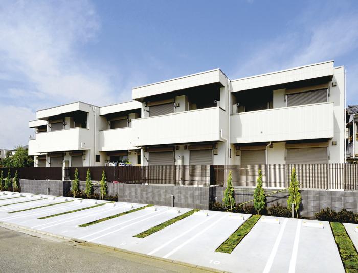 曲面外壁デザイン、自由度の高さで一歩先ゆく都市型賃貸2