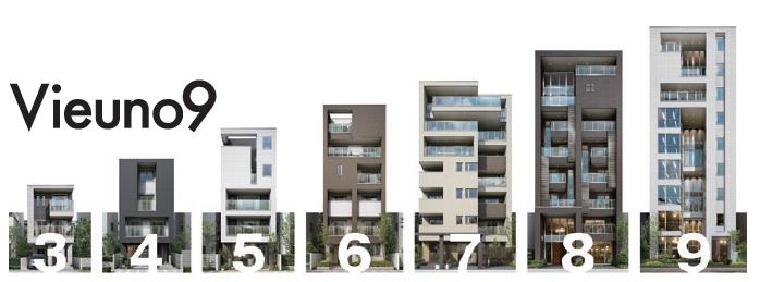 業界初の9階建とペット共生で都市部での高収益&差別化1