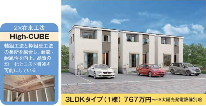 低価格・高品質な戸建て賃貸住宅『リーブルファイン』2