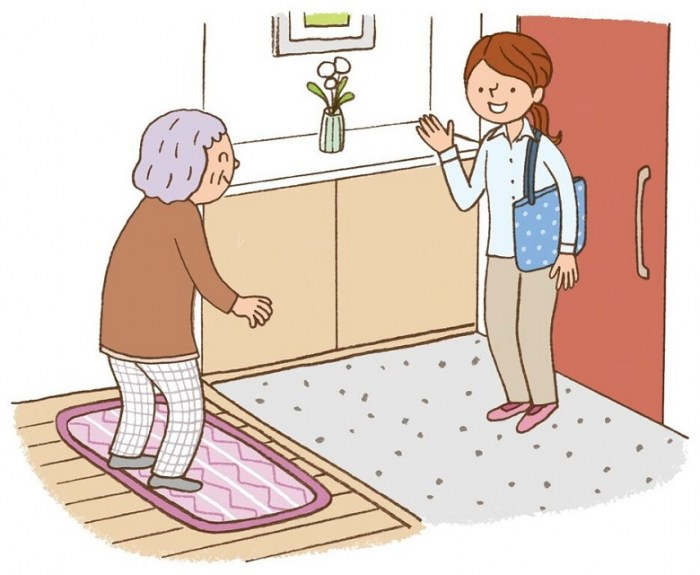 入居者の生活の異変をすぐに察知!高齢者見守りサービス1