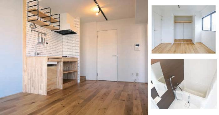 築古物件を高収入物件に再生!巧みな造作で空間を活かす「エイムズ」に注目1