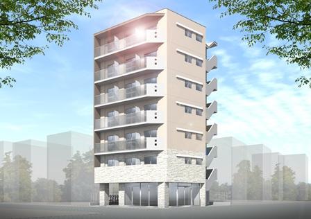 【賃貸住宅完成見学会】相模原5丁目ビル新築工事