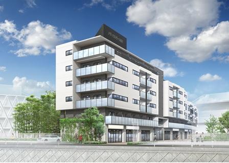 【賃貸住宅完成見学会】仙川2丁目メディカルマンション新築工事