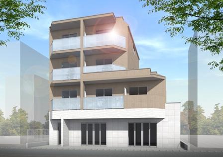 【賃貸住宅完成見学会】経堂2丁目ビル新築工事