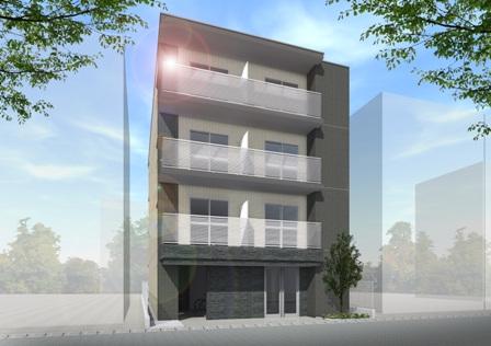 【賃貸マンションの完成見学会】相模原6丁目マンション新築工事