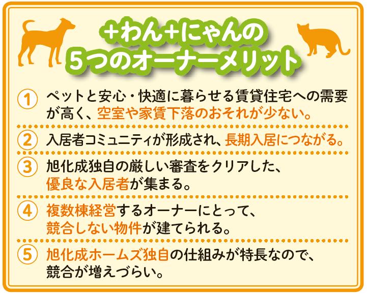 旭化成の「ペット共生型賃貸」でアパート経営の長期安定を実現2