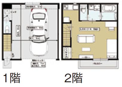駅遠・騒音の立地でも成功する入居率98%超のガレージハウス2