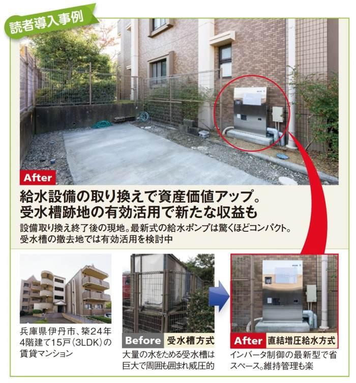 台風被害に備えた住宅設備!新型給水ポンプでコストカット2