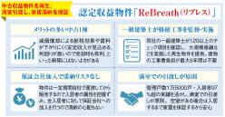 満室引き渡しで資産形成をサポート!武蔵コーポレーションの認定収益物件「ReBreath」とは?