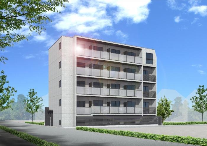 【朝日建設構造見学会】賃貸マンション(高井戸東)