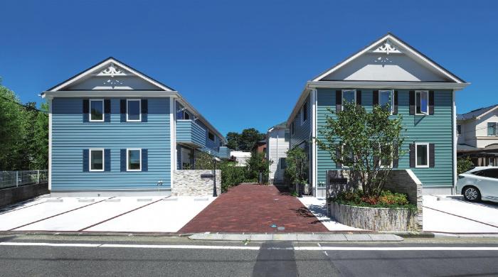 賃貸併用住宅や戸建て賃貸を組み合わせた東急Re・デザインの賃貸住宅 建築実例1
