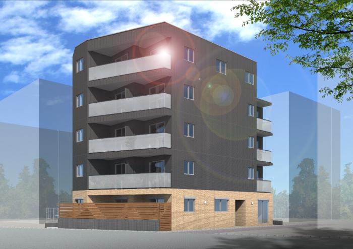 【朝日建設】自宅併用賃貸マンションの構造見学会(小山台1丁目マンション)