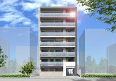 【朝日建設】自宅併用賃貸マンションの構造見学会(生麦5丁目ビル)