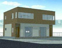 【完成物件見学会】高いニーズ&ローコストの倉庫付き賃貸オフィス|新生建設