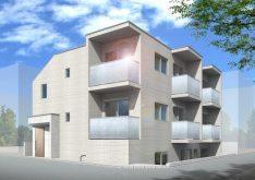 細部のデザイン性と多様な間取りは必見!賃貸マンションの完成見学会(シャレー学芸大)|朝日建設