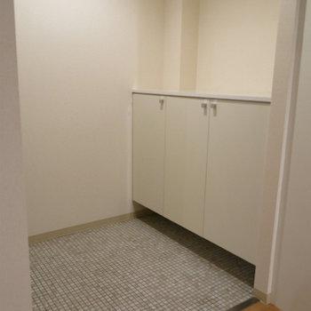 フラット玄関※写真は別部屋