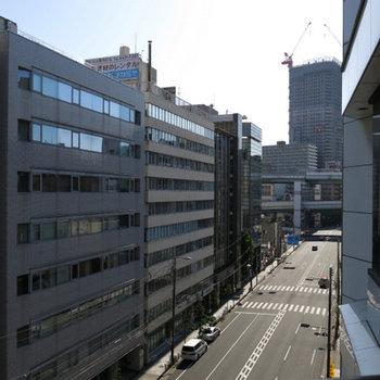 本町通りを一望!
