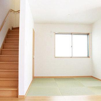 畳のスペースもありますよ!