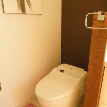 洗面と一室空間です