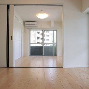 扉を開けると開放感あります。※写真は前回募集時のものです