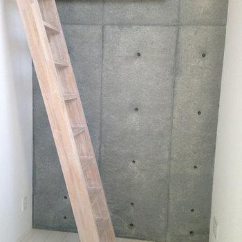 ロフトへの階段※写真は前回募集時のものです