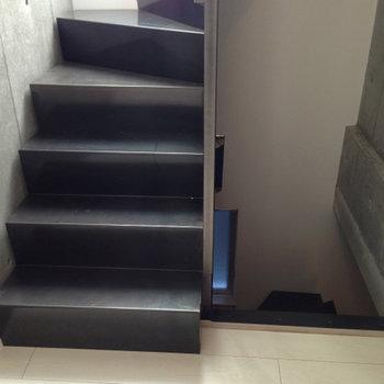 螺旋階段です、2Fから3Fへ※写真は前回募集時のものです