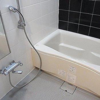 お風呂もゆったりめ