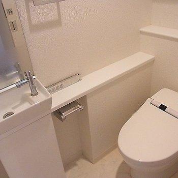 トイレはいい感じ